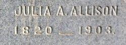 Julia Ann <i>Baldwin</i> Allison