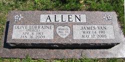 Olive Lorraine Sally <i>Pierce</i> Allen