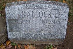 Elizabeth <i>Leroy</i> Kallock
