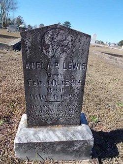 Adela P Lewis