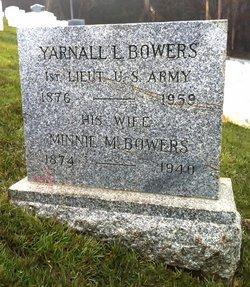 Yarnall L Bowers