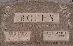 Leonard Boehs