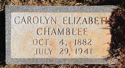 Carolyn Elizabeth Carrie <i>Veal</i> Chamblee