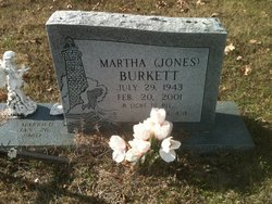 Martha Kaye <i>Jones</i> Burkett