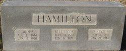 Betty <i>Cox</i> Hamilton