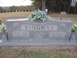 Alice <i>McHone</i> Bingman