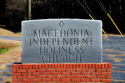 Macedonia Independent Holiness Church Cemetery