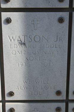 Edward Biddle Fast Eddy Watson, Jr