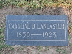 Caroline B Lancaster