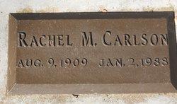 Rachel M <i>Witt</i> Carlson