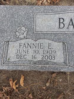 Fannie E Barrett