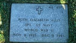 Ruth Elizabeth <i>Borel</i> Allo