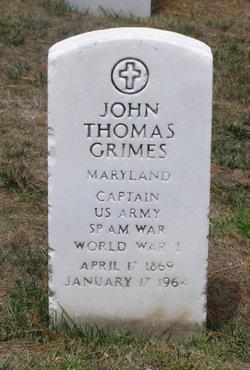 John Thomas Grimes