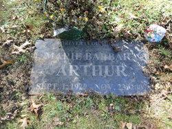 Marie Barbara <i>Jester</i> Arthur