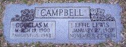 Effie <i>Lewis</i> Campbell