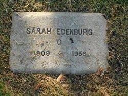 Sarah <i>Johnson</i> Edenburg