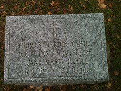 Thomas Merton Cahill, Jr