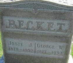 Josie J. <i>Greenstreet</i> Becket