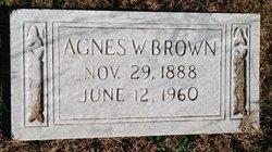 Agnes W Brown