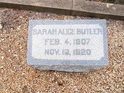 Sarah Alice Butler