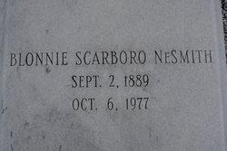 Blonnie <i>Scarboro</i> NeSmith