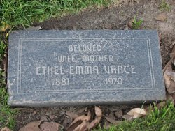 Emma Ethel <i>Johnson</i> Vance