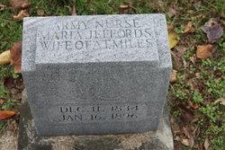 Mrs Maria <i>Jeffords</i> Miles