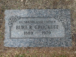 Burt Raymond Crockett