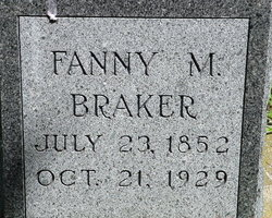 Fannie Bracker