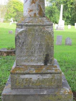 Clara P. <i>Kinsley</i> Leland