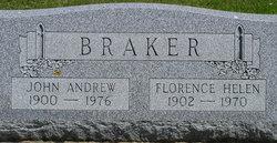 Florence Helen <i>Thoman</i> Braker