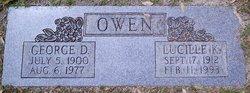 Lucille K Owen