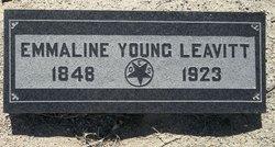 Emmaline <i>Young</i> Leavitt