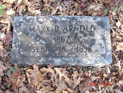 Mary <i>Boggs</i> Arnold