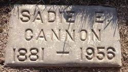 Sadie Etta <i>Hunsaker</i> Cannon