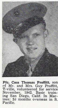 PFC Cass Thomas Proffitt