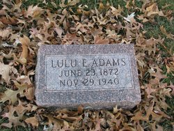 Lulu Elizabeth <i>Halterman</i> Adams