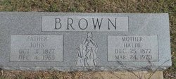 Hattie Brown