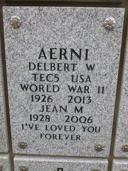 Jean M Aerni
