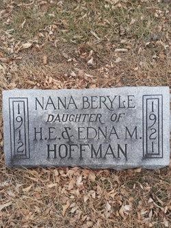 Nana <i>Hoffman</i> Beryle