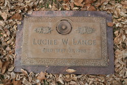 Lucile <i>White</i> Lange