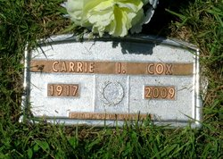 Carrie I. <i>Dimick</i> Cox