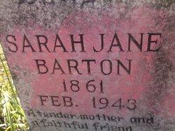 Sarah Jane <i>Bullard</i> Barton