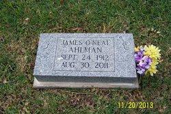 James O'Neal Ahlman