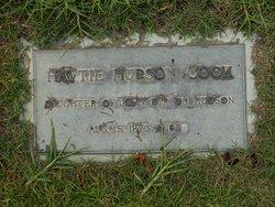Hattie <i>Hudson</i> Cook