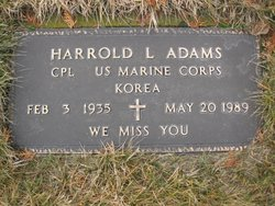 Harrold LeRoy Adams