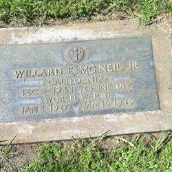 Willard Eugene McNeil, Jr