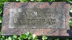 Harriet Hattie <i>Lee</i> Ketchpaw
