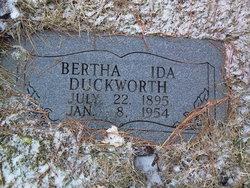 Bertha Ida Duckworth