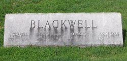 A Cornell Blackwell